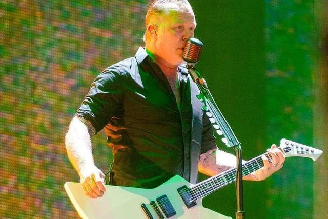 Fotos: Metallica in Basel