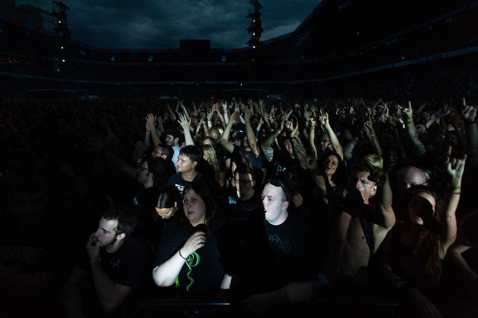 Metallica (Foto: FLORIAN FORSBACH)