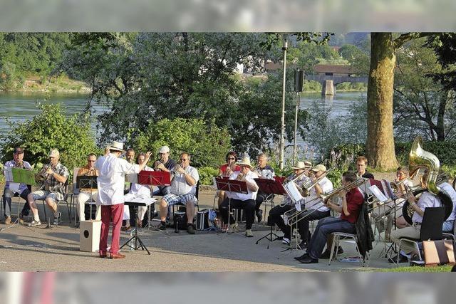 Sommerserenade des Posaunenchors in Bad Säckingen