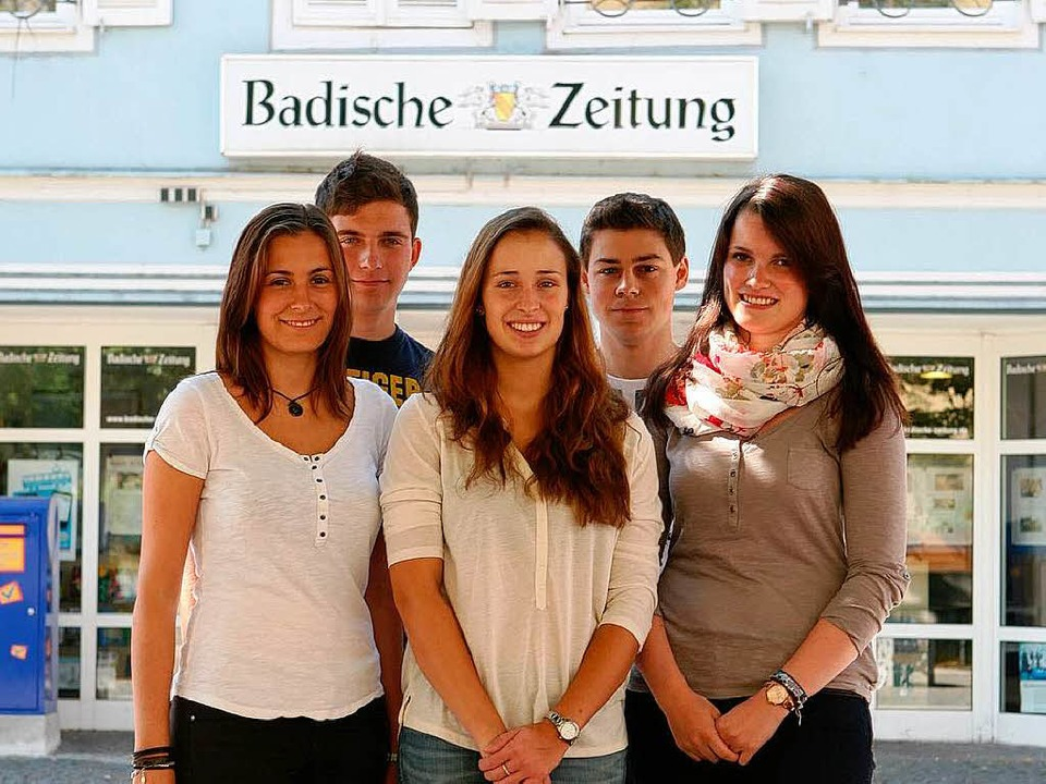 Die BZ-Azubis  | Foto: Bastian Henning