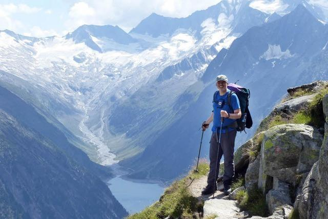 Volker Jung berichtet über seinen Fußmarsch über die Alpen