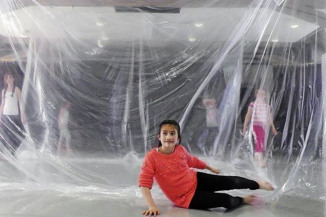 Kinder der Kunstschule Offenburg zeigen Choreografien