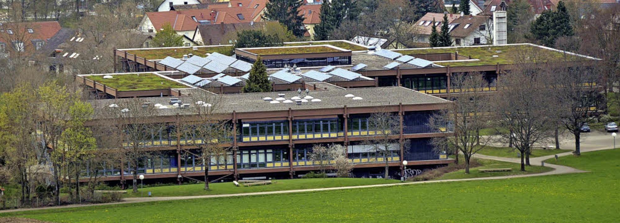 In der Bildungslandschaft im Dreisamta...nasium, Realschule und Werkrealschule   | Foto: Markus Donner/Schularchiv