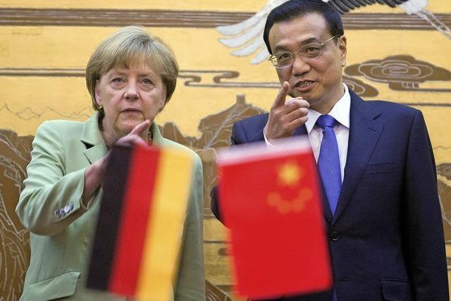 Merkel äußert sich in China zur Spähaffäre
