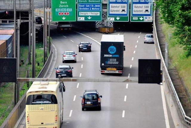 Basel soll einen Autobahntunnel unter dem Rhein bekommen