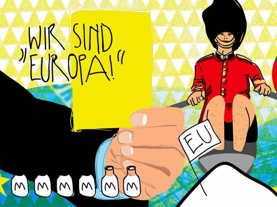 Wohin steuert Europa? Das fragen sich ...ten – diese aber ganz besonders.  | Foto: karo schrey