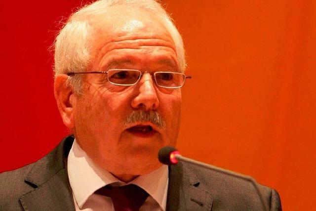 Ein Abschied als Ehrenbürger für Gerhard Homberg