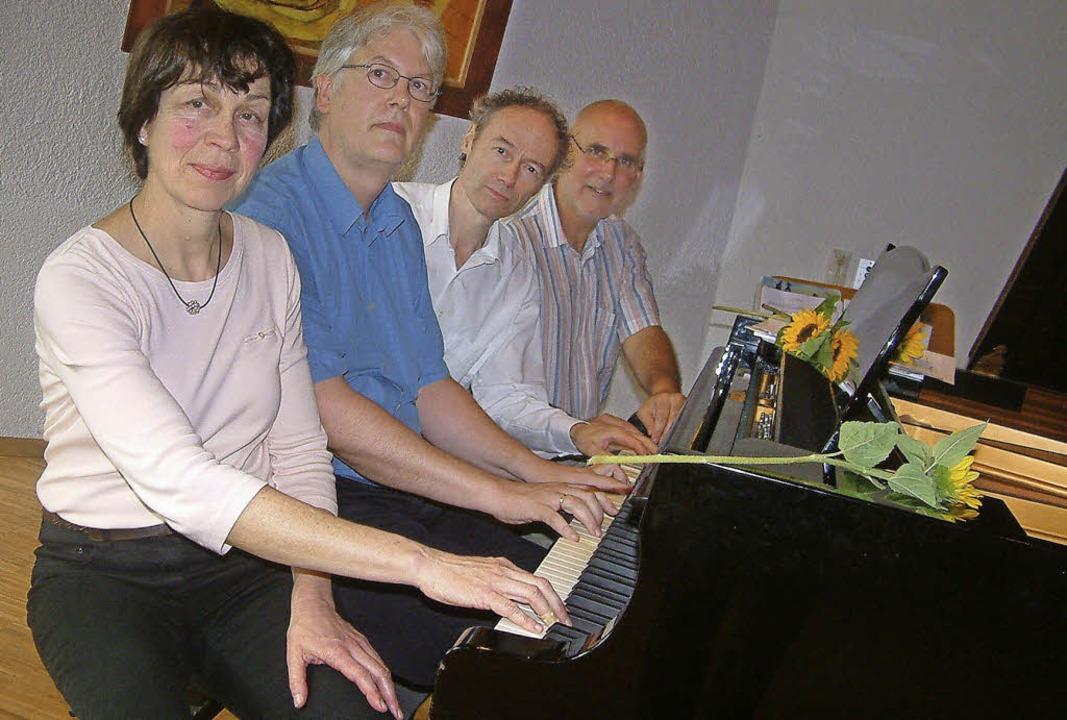 <Text>Klavier-Hits spielten Heide Skup...n Klaviertagen der Musikschule</Text>.  | Foto: Roswitha Frey