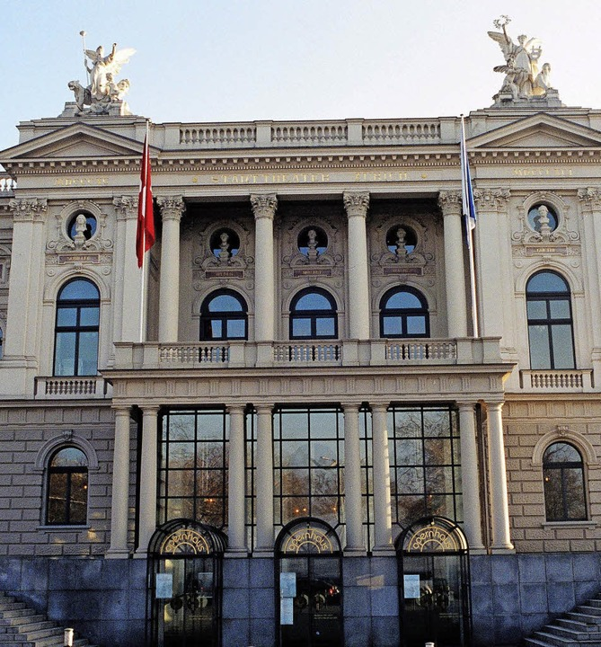 Opernhaus in Zürich: Hier ist der Blick hinter die Kulissen möglich.  | Foto: Opernhaus