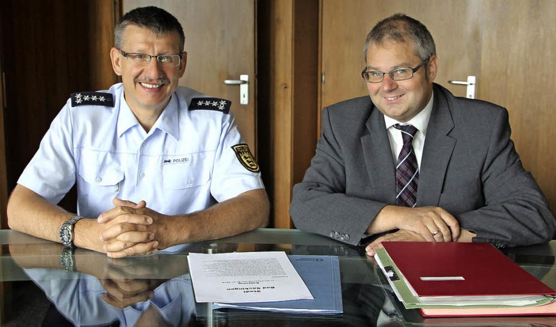 Mit der Gründung des Vereins zur Krimi...Guhl mehr Sicherheit für die  Bürger.   | Foto: Susanne Kanele