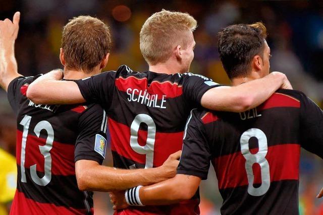 Deutschland steht im WM-Finale – 7:1 gegen Brasilien