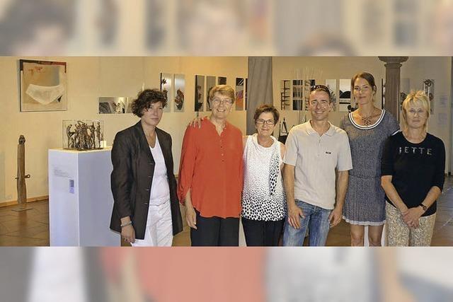 Sechs Künstler stellen aus