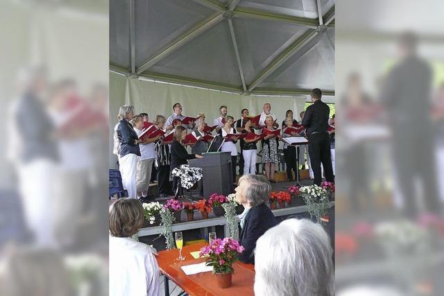 Chor-Matinee im Rheinfelder Vacono-Dome