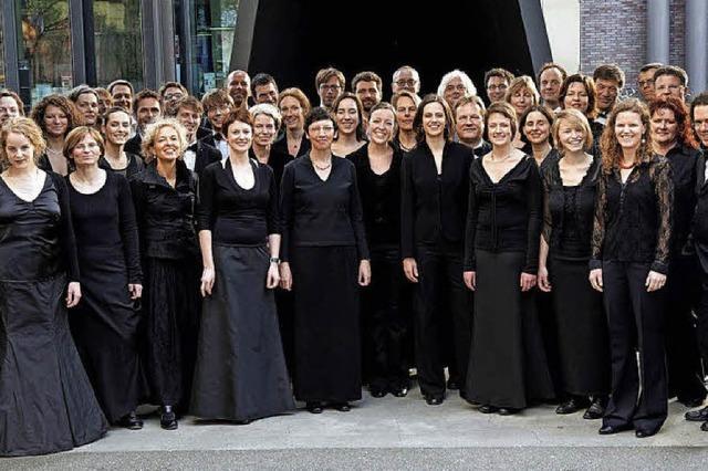Werke von Gershwin, Rossini und Elgar: Die Camerata Vocale Freiburg in der Christuskirche