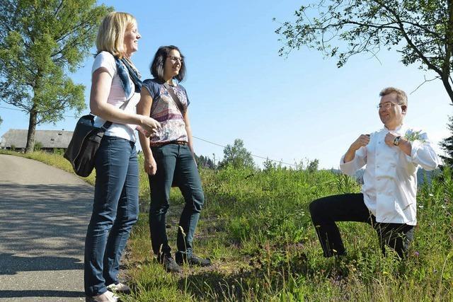 Auf Tour durch die Pflanzenwelt bei Hinterzarten