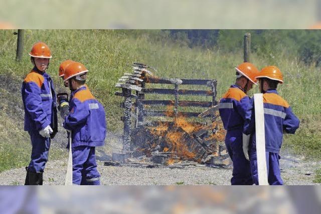 Versierte Rettungskräfte in Aktion