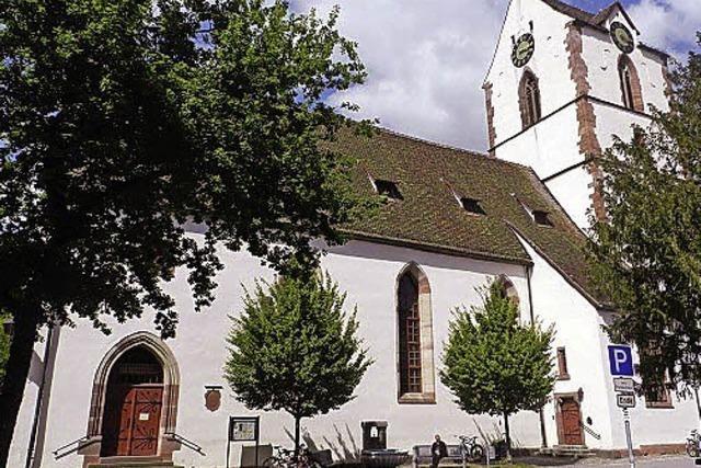 Einblicke in die Alte Kirche St. Michael