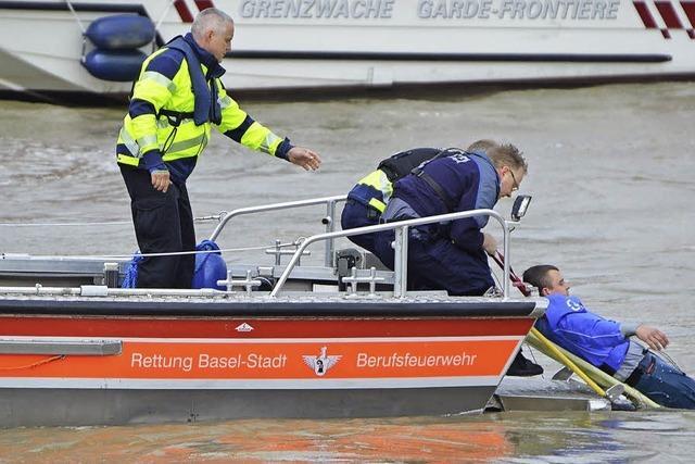 Einsätze auf dem Rhein - wenn die Boje zur tödlichen Falle wird