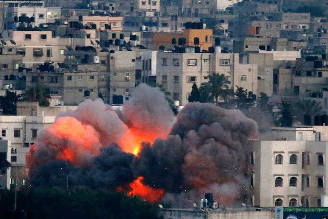 Palästinenser beklagen mindestens 68 Tote