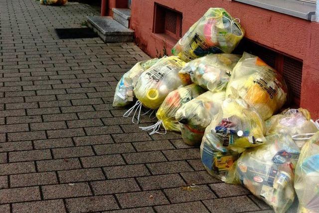 In Schopfheim geht das Gelbe-Sack-Virus um: Was tun?