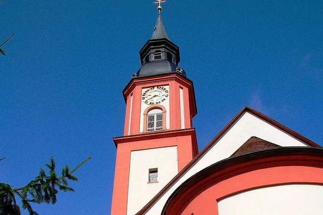 Waldkirch-Visitation durch den Dekan