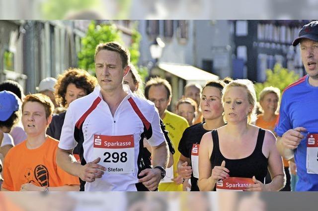 Stadtlauf vor dem Teilnehmerrekord