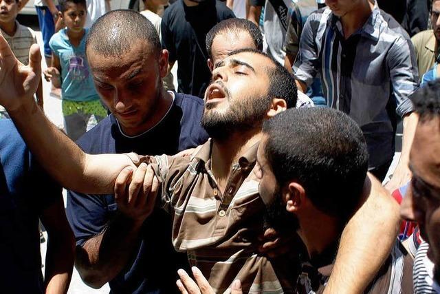Mehr als 80 Tote bei israelischen Angriffen auf Gazastreifen