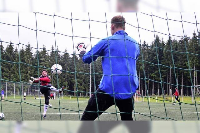 Landesligatraum im Dauerregen