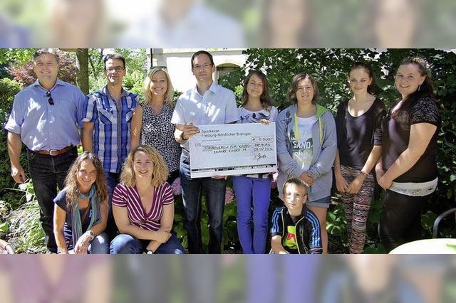 5000 Euro für an Krebs erkrankte Kinder