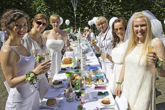 Das Diner-Vorbild in Weiß kommt aus Paris