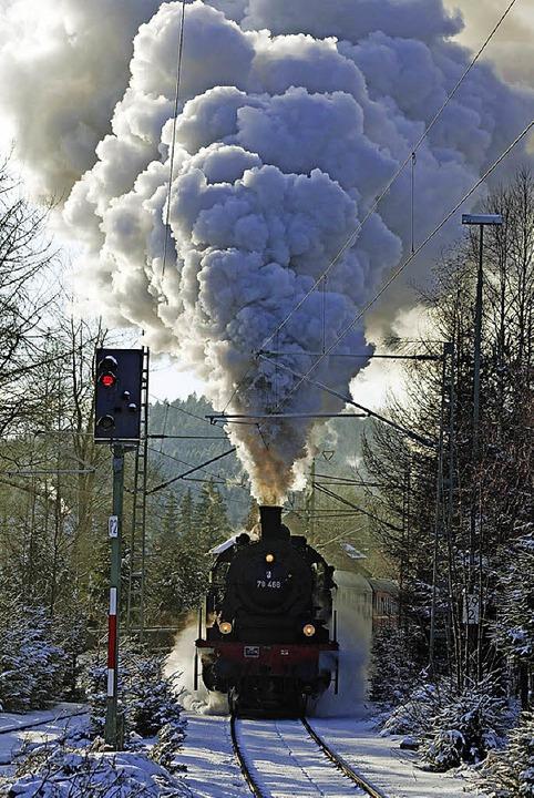 Dampf steigt wieder auf   | Foto: BZ