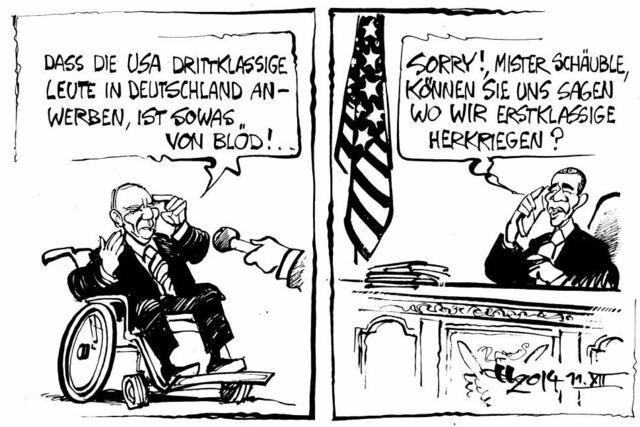 Die USA sind kooperativ