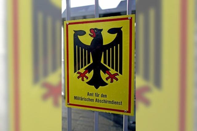 Ein Geheimdienst zum Schutz der Bundeswehr