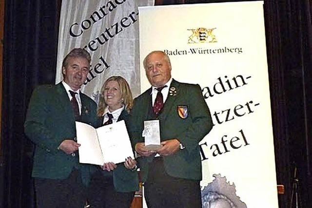 Hohe Auszeichnung für den Musikverein Weisweil
