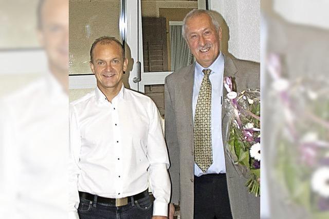 Klaus Preiser in Obermettingen verabschiedet