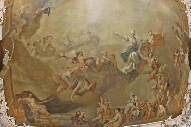Public Viewing: WM-Finale im Schloss Ebnet