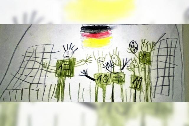 IM WM-FIEBER: Tipps fürs Endspiel von Schülern der Rheinschule