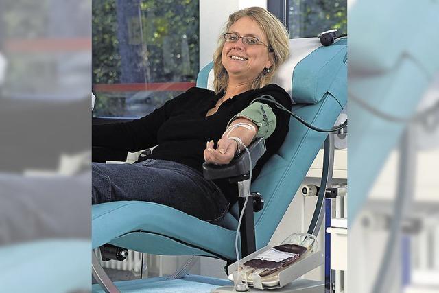 472 Blutspender, so viele wie lange nicht mehr