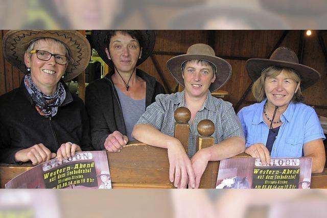 Die Landfrauen laden zum Westernabend