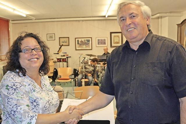 Neuer Dirigent bei Grenzacher Musikern