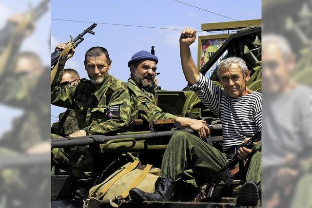 Ukrainische Armee rückt auf Donezk vor