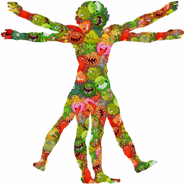 Der Mensch besitzt mehr Bakterien als Zellen  | Foto: k.amova_ (Fotolia)