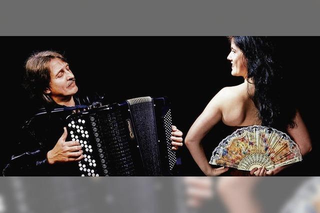 Weltmusik von Katalin Horvath und Andrej Mouline