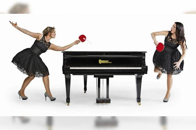 """Queenz of Piano"" in der Alten Säge in Zarten"