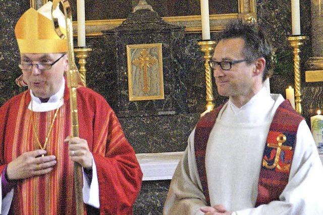 Ein Fest mit dem Bischof