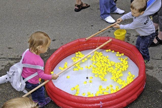 Feierlaune bei Geburtstags-Städlefest