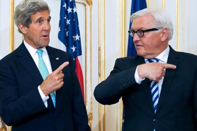 Steinmeier und Kerry beraten über US-Spionageaffäre