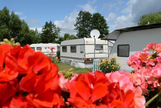 Camping liegt im Trend