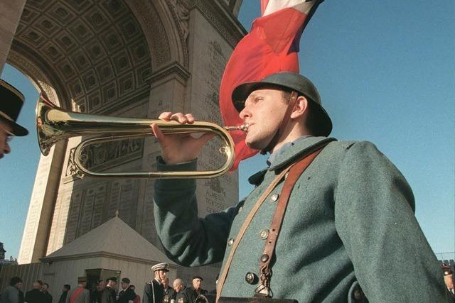 In Frankreich ist die Erinnerung an den 1. Weltkrieg sehr lebendig
