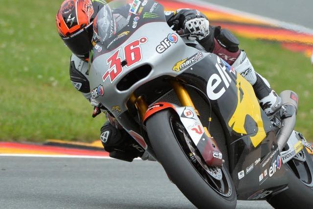 Motorrad-WM: Auf dem Sachsenring geht's rund